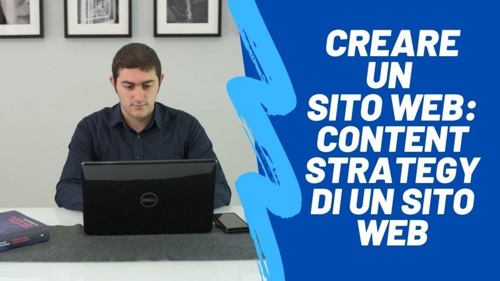 Creare un sito web_ content strategy di un sito web