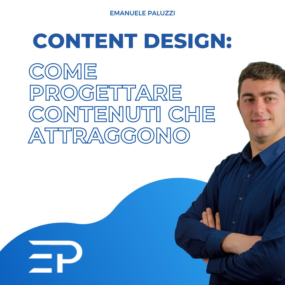 Content Design come progettare contenuti